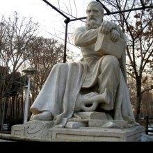نصب أول تمثال للشاعر الایرانی عمر الخیام فی روسیا
