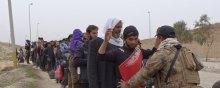 حقوق-الانسان - الهروب حفاة من الموصل: الطریق الطویل إلى بر الأمان