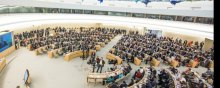 مشارکة و حضور منظمة الدفاع عن ضحایا العنف فی الاجتماع السادس والثلاثین لمجلس حقوق الانسان