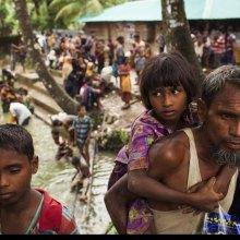 غرق 11 طفلا من الروهینجا أثناء هروبهم من العنف فی میانمار - Rohingya_UN0126240