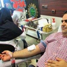 اکثر من ملیونی شخص تبرعوا بالدم فی ایران خلال العام الماضی