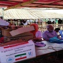 - مسلمو الروهینغا یتلقون الوجبة الأولى من مساعدات الشعب الإیرانی