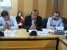اقامةالدورة التعلیمیة الشاملة لمحاکاة مجلس حقوق الانسان - HRC Simulation (18)
