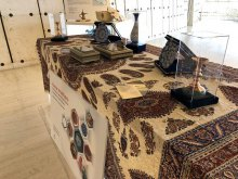 إقامة معرض الفنون الیدویّة للأقلیّات والقومیّات الایرانیّة بمنظمة الأمم المتحدة - Human Arts.Rights Exhibition (21)