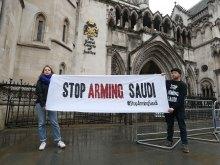 الأوضاع-فی-الیمن - طعن قضائی فی بیع المملکة المتحدة الأسلحة للسعودیین