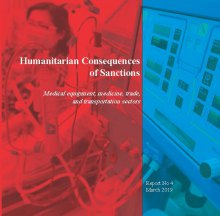 Humanitarian Consequences of Sanctions - Humanitarian Consequences of Sanctions